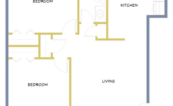 3110-8th-Street 2 Bedroom