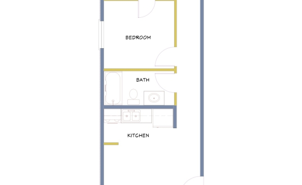 Azure-2 Bedroom-End