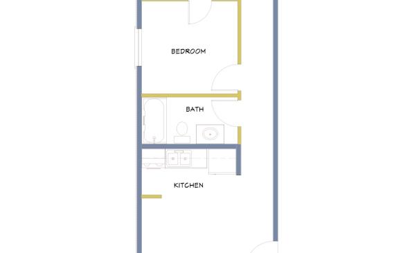 Azure-2 Bedroom-End