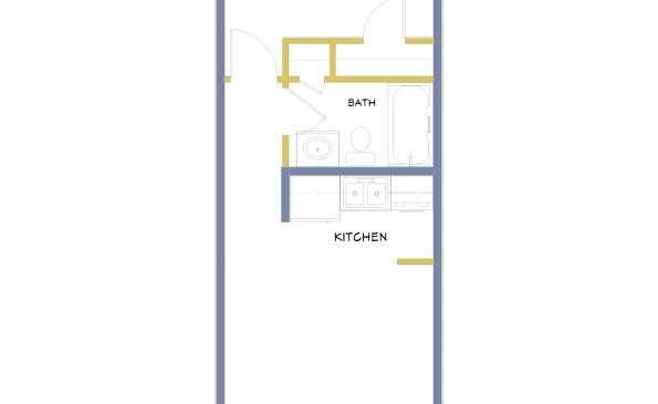 Azure-Large 1 Bedroom