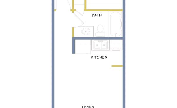 Azure-Small 1 Bedroom