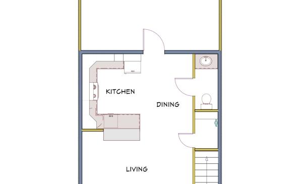 Regal 2 Bedroom Condo-Main Floor