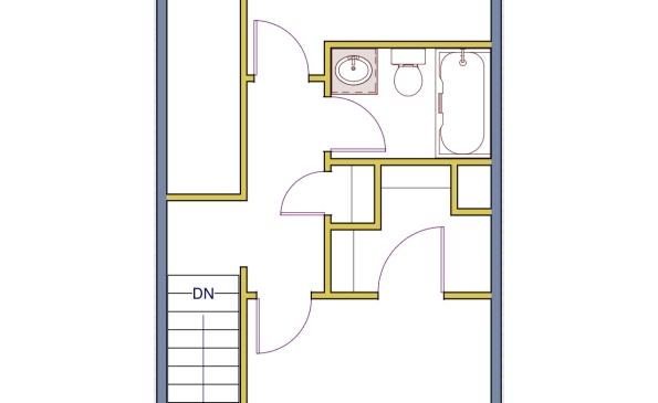 Regal 2 Bedroom Townhouse-2nd Floor