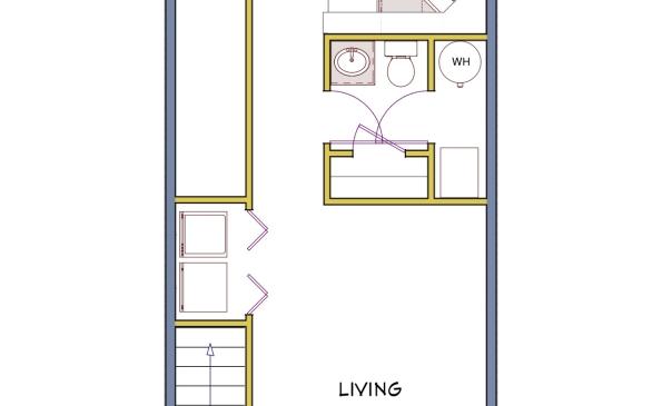 Regal 2 Bedroom Townhouse-Main Floor